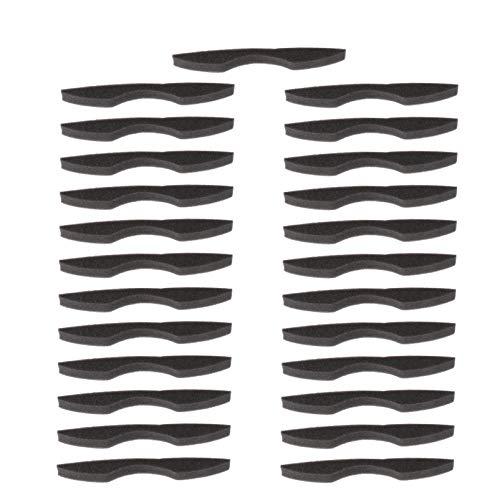 MILISTEN Nasenbrücke Antibeschlag Brille Nasenbügel Mundschutz Bügel Brillenträger Schwamm Innenhalterung Schutzhülle für Gesichtsschutz Sonnenbrille Gesichtsbedeckung 25 Stücke