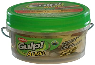 Berkley Gulp! Alive! Shrimp/Peeler Crab Asstmnt, Varied, Soft Bait - Varied