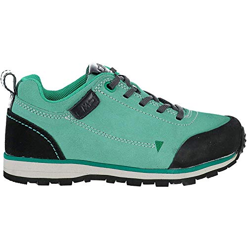 CMP wandelschoenen outdoorschoen Kids Elettra Low Hiking Shoes WP turquoise effen kleuren