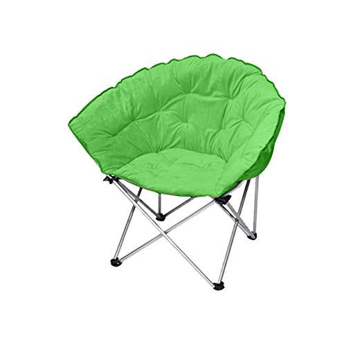 YQQ-Chaise pliante Chaise De Pause Déjeuner Chaise Longue Acier Confortable 50 * 82CM (Couleur : Green)