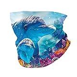 best& Cara Ma-sk Diadema Dolphin Underwater Party Cover Casual Headwear Bandana...