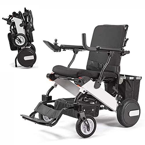 FC-LY Silla de Ruedas eléctrica portátil, batería de Litio 15Ah para discapacitados para discapacitados para discapacitados para discapacitados al Aire Libre e Inddor