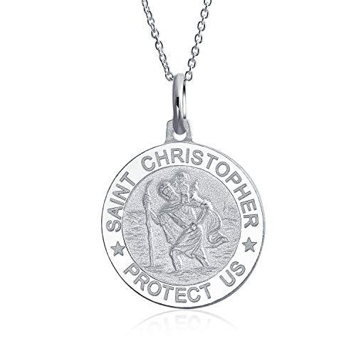 Médaille Religieuse De Parton Médaillon Safe Travel Saint Ch