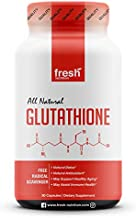 Glutathione Supplement - Strongest DNA Verified Glutathione Reduced - Natural Skin Whitening Anti-Aging Benefits – Liver, Immune and Brain Function - Vegan Friendly, Non GMO, Gluten & Soy Free