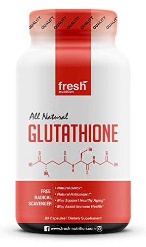 Glutathione Supplement - Strongest DNA Verified Glutathione Reduced -...