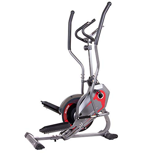 Great Features Of Body Power 2-in-1 Elliptical Stepper Trainer with Curve-Crank Technology
