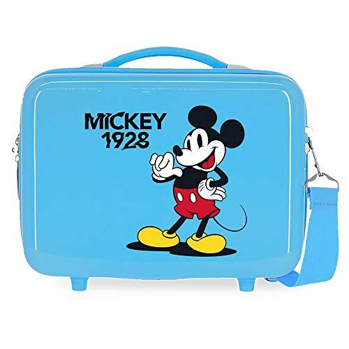 Disney Topolino That's Easy Trousse adattabile blu 29 x 21 x 15 cm rigida ABS 9,14 L