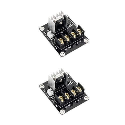 Jolicobo 2Pack Mosfet 3D Stampante Modulo di Riscaldamento a Letto Riscaldato Alta Corrente 25A Spansione Letto Caldo Modulo