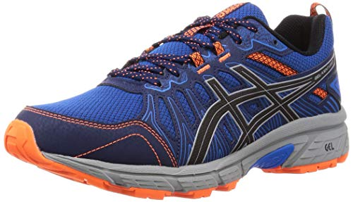 ASICS Mens Gel-Venture 7 Running Shoe, Electric Blue/Sheet Rock