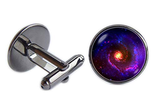L'Espace de l'astronomie Boutons de manchette Boutons de manchette Universe Bijoux Bijoux Galaxy