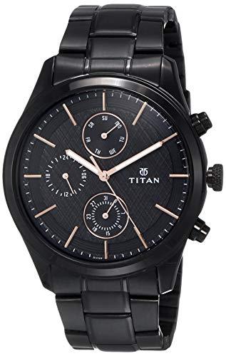 Titan Neo Iv Analog Black Dial Men's Watch
