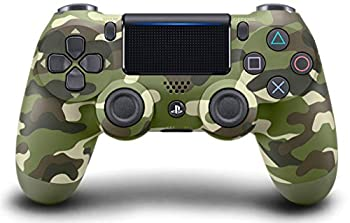DualShock 4 Wireless Controller for PlayStation 4 - Green Camouflage  Renewed