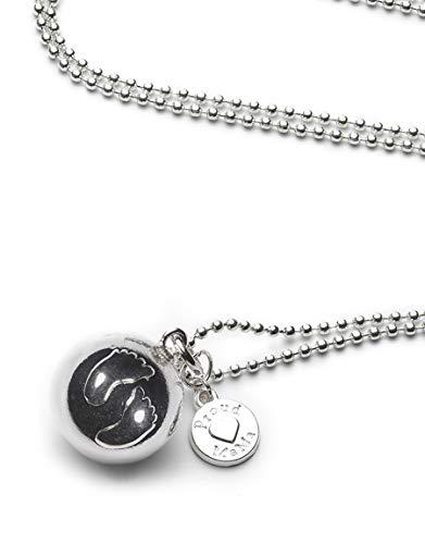 Proud Mama bola ballchain Feet Baby Bell: El milagroso collar para embarazadas con una pequeña campana