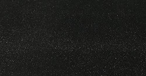 R&F srls 10 Fogli Gomma Eva Nero con Brillantini 40X60 CM 2mm Glitter Hobby Fai da Te