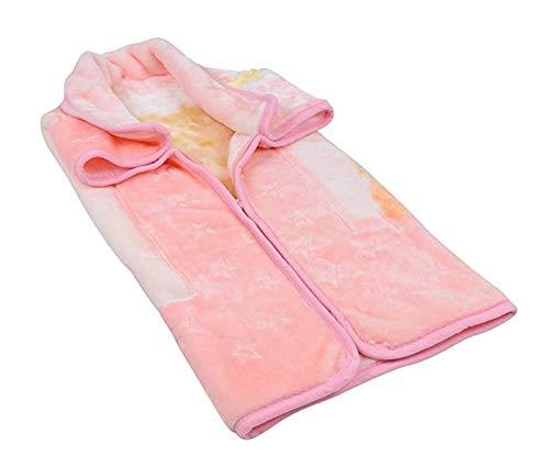 Sweet Cherry - Manta de forro polar para bebé recién nacido, cálida y suave, ideal como regalo para niños y niñas rosa Talla única