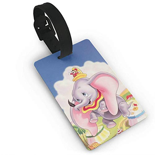 Dumbo Luggage Tag Adjustable Strap Bag Baggage Name,Accessories Tags for Tourists