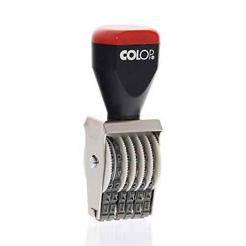 COLOP 03006 3 mm 6 Band Gummi Nummerierungsstempel