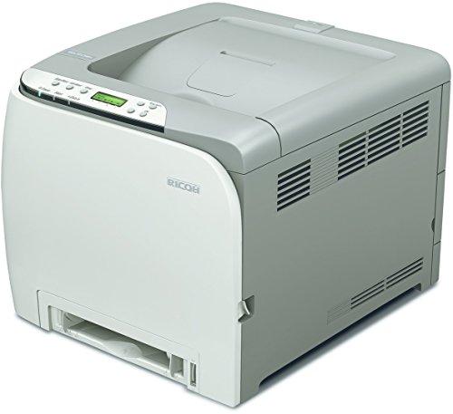 Ricoh Aficio SP C240DN Farblaserdrucker (2400x600 dpi, Ethernet 10 Base-T/100 Base-TX, USB 2.0) grau