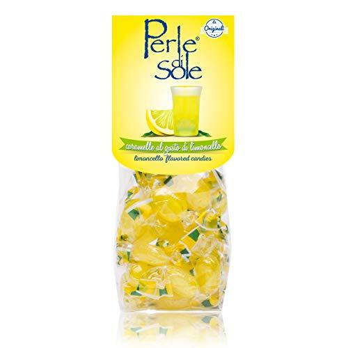 Limoncello-aromatisierte Bonbons - Perle di Sole