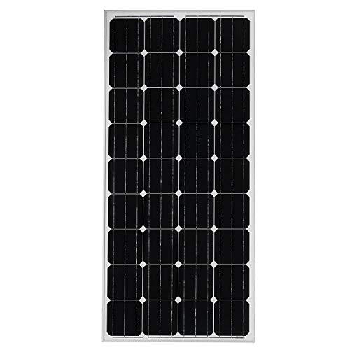 Yuqianqian Home Gardens Camping Panel Solar, Placa Paneles de 200W 11A 18V Solar monocristalino Flexible Plegable (Color : Silver, Size : 480x680x35mm)