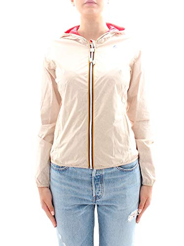 K-Way | Lily Plus Double Giacca Beige | Kway_K002XN0_A93 - S