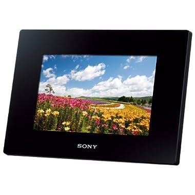 SONY Digital Photo Frame D720 Black DPF-D720/B - International Version (No Warranty)