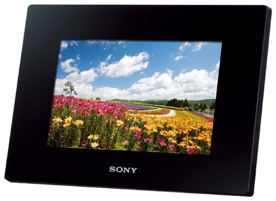 慢性的新着何故なのソニー SONY デジタルフォトフレーム S-Frame D720 7.0型 内蔵メモリー2GB ブラック DPF-D720/B