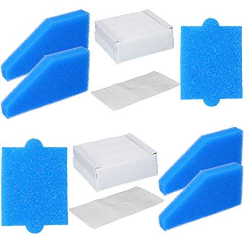 Kit de filtres compatibles avec les aspirateurs Thomas AQUA+, équivalent aux filtres Thomas 99 (référence 787241) 10-teilig