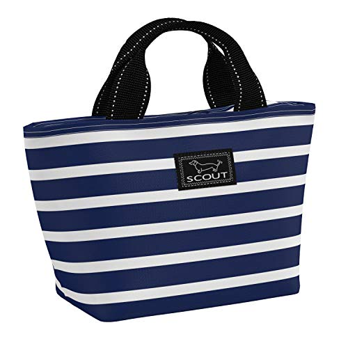 SCOUT Nooner Lunch Box, Water-Resistant, Lightweight, Insulated Lunch Bag for Women with Zippered Closure and Exterior Zipper Pocket