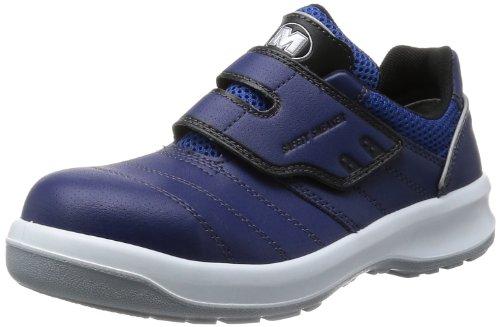 [ミドリ安全] 安全作業靴 JSAA認定 グリーン購入法適合 マジックタイプ プロスニーカー G3595 メンズ ネイビー 23.5