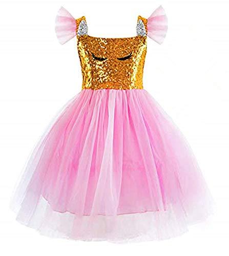Disfraz de unicornio de tul, vestido de fiesta de disfraces de princesa, vestido de tul para niñas.