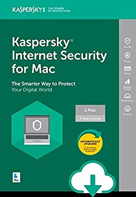 Kaspersky Internet Security 2018 | 1 Device | 1 Year [Mac Download]