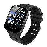 Smartwatch,Reloj Inteligente con Pulsómetro,Cronómetros,Calorías,Monitor de Sueño,Reloj de Fitness con Podómetro Impermeable IP68 Smartwatch Mujer Hombre para Android y iOS