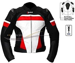 Amazon.es: chaquetas para moto mujer - Blanco