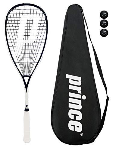 Prince Pro Sovereign 650 Raqueta De Squash + Bolas De 3 Calabaza + Bolso -...