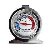 Kimilike - Termómetro para frigorífico (1 unidad, con indicador de temperatura)