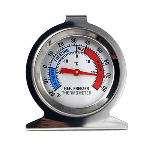 Saniswink Outil de cuisine portable pour réfrigérateur congélateur Thermomètre Cadran de type Jauge de température Taille unique comme sur l'image