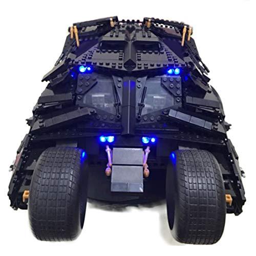 Poxl LED Beleuchtung Für The Tumbler, LED Light LED Licht Kit Kompatibel Mit Lego 76023 - Lego Modell Nicht Enthalten