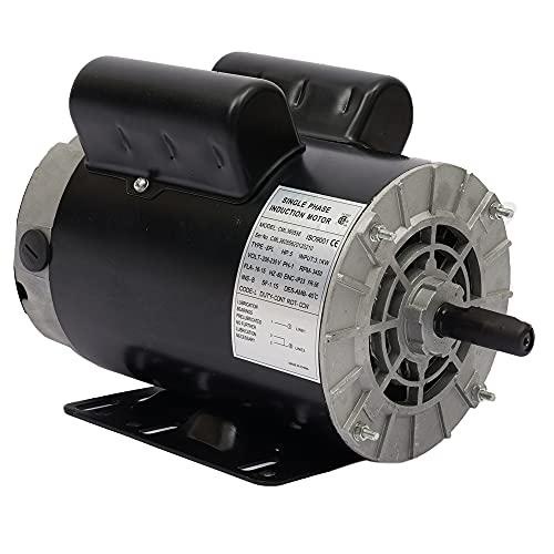 5 HP SPL 3450 RPM P56 Frame Air Compressor 60Hz 208-230 Volts Single Phase Electric Motor