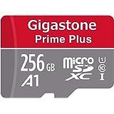 Gigastone マイクロSDカード Micro SD Card 256GB フルHD SD アダプタ付 ミニ収納ケース付 w/adaptor and case SDHC U1 C10 100MB/S 高速 micro sd カード Class 10 UHS-I Full HD 動画