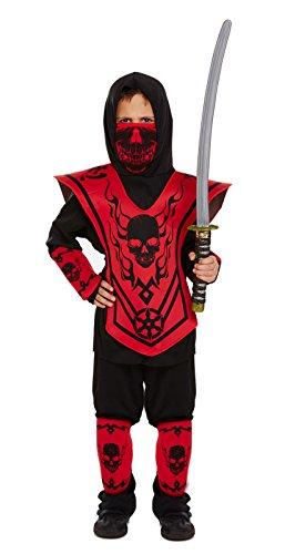 Ninja Déguisement ninja pour enfant 4-12ans