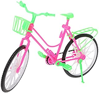 """MYLOVE High Quality Doll Bicycle Bike Doll House For Barbie Doll 12"""" Doll Accessories Girls Gift"""