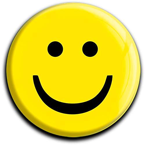 metALUm runder Acrylmagnet mit starkem Neodym - Magnet Smiley #1301001