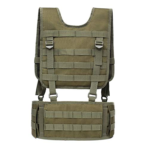 Buy EFINNY Tactical Padded Battle Belt with Detachable Suspender Straps Airsoft Combat Duty Belt wit...