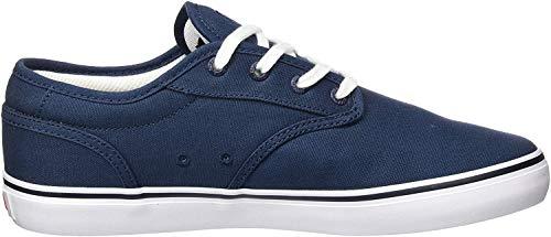 Globe Herren Motley Skateboardschuhe, Blau (Blue Canvas/White 13307), 44 EU