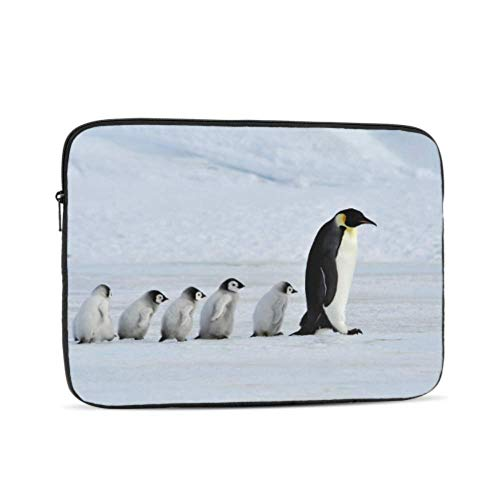Laptop Case 13 Inch Cartoon Cute Swing Dancing Penguin 12inch Macbook Case Multi-Color & Size Choices10/12/13/15/17 Inch Computer Tablet Briefcase Carrying Bag