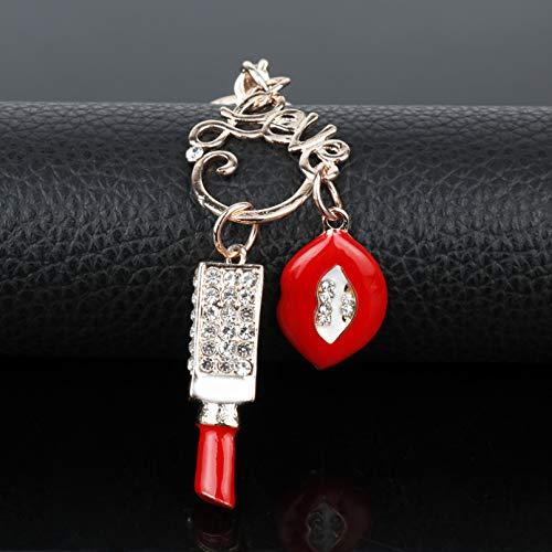 KANGDE Schlüsselanhänger Cherry Guitar Rabbit Lobster Bee Car Bag Schlüsselanhänger