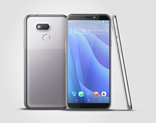 HTC, Desire 12s, Smartphone débloqué, 4G, (5,7 Pouces, 32Go, Double Nano SIM, Android 8.1) Argent
