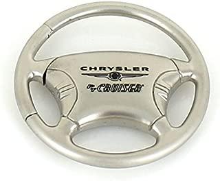 Chrysler PT Cruiser Steering Wheel Chrome Keychain