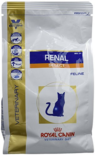 Royal Canin Veterinary Diet Cat Renal Select Comida para gato 500g 🔥
